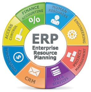 Microsoft ERP diagram
